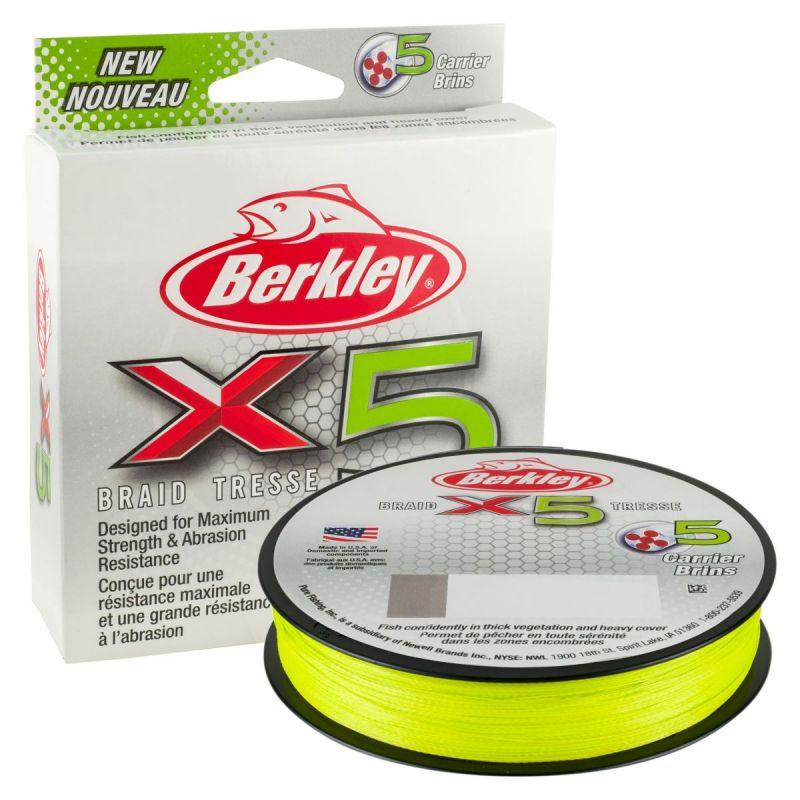 BERKLEY X5 FLAME GREEN 150m