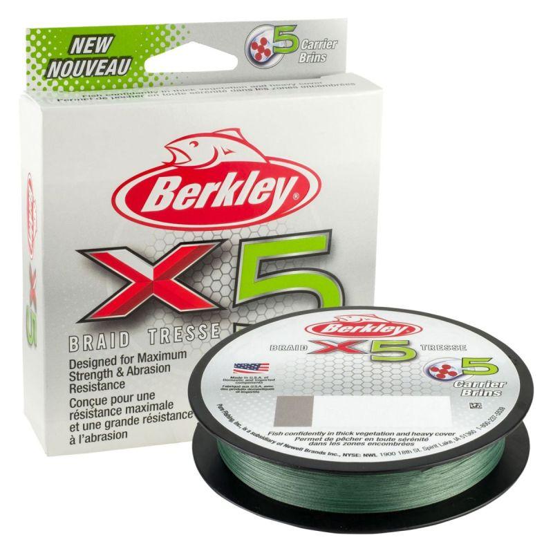 BERKLEY X5 LOW VIS GREEN 150m
