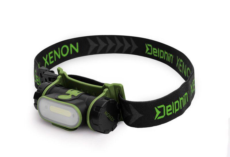 Čelová lampa Delphin XENON 5W