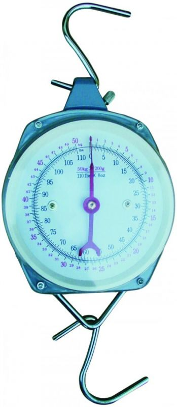 Mechanická závěsná váha 100 kg Format1