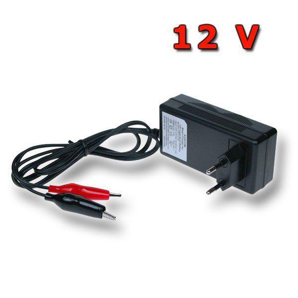 Nabíječka 12V/0,8A pro olověné AGM/GEL/WET