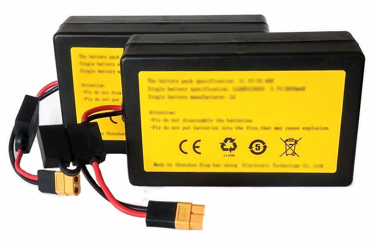 Náhradní baterie pro zavážecí lodičku Carp Scout LI - Li-ion 20Ah (set) Mivardi