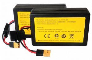 Náhradní baterie pro zavážecí lodičku Carp Scout LI - Li-ion 10Ah (set)