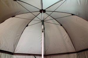 Deštník DELPHIN s prodlouženou bočnicí 250cm/zelená