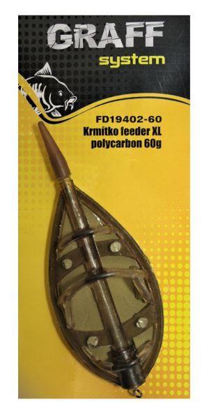 Krmítko feeder XL polycarbon Graffishing