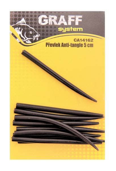 Převlek Anti-tangle 5 cm černá Graffishing