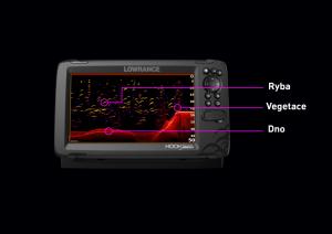 Hook Reveal 5 se sondou HDI 50/200 kHz Lowrance