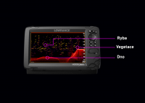 HOOK REVEAL 7 se sondou HDI 83/200 kHz Lowrance