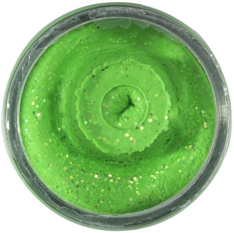 POWERBAIT NATURAL GLITTER TROUT BAIT LIVER 50G SPRING GREEN Berkley