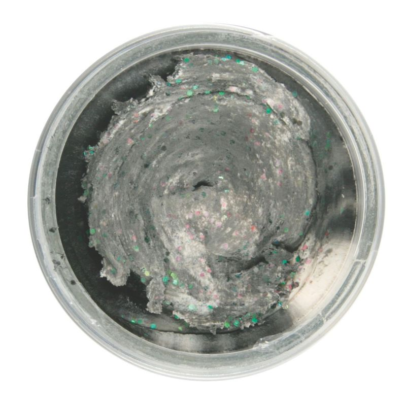 POWERBAIT SELECT GLITTER TROUT BAIT 50G BLACK WHITE TWIST Berkley