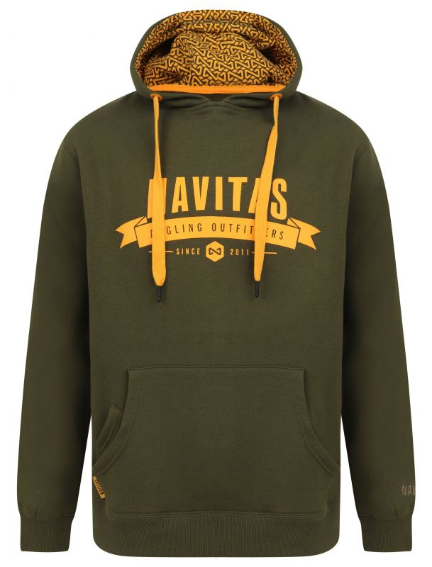 Navitas: Mikina Outfitters Hoody Green Velikost 2XL