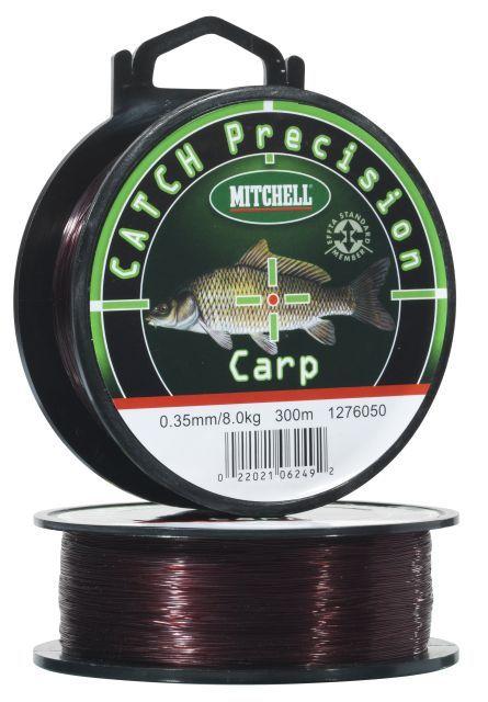 Vlasec CATCH Precision CARP 300m 0,30mm (hnědá)