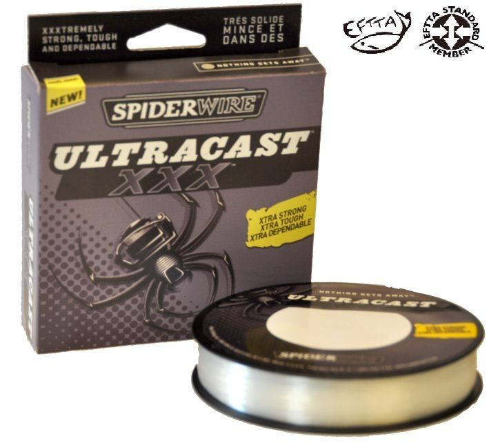 Vlasec Ultracast XXX 270 m průhledný Spiderwire