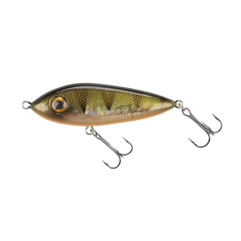 MCSNACK SVARTZONKER 9CM SIGN EVELINA FL PERCH Abu Garcia