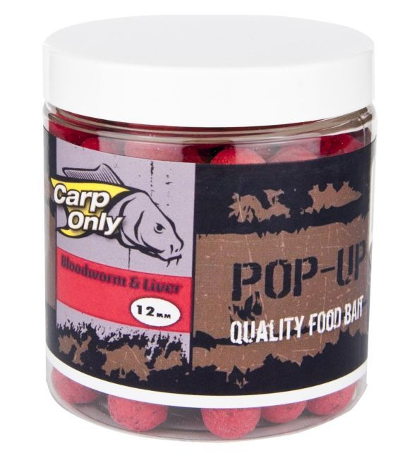 Bloodworm & Liver POP UP 100G Carp Only