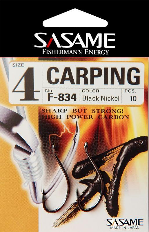 Háček s očkem Sasame Carping