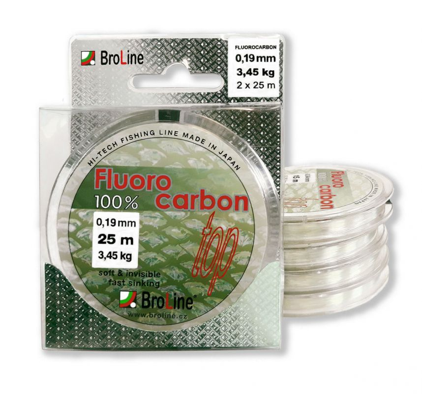 100% Fluorocarbon / 20m - 0,58mm Broline