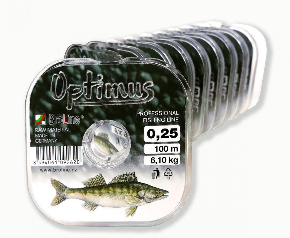 OPTIMUS candát / 300m Broline