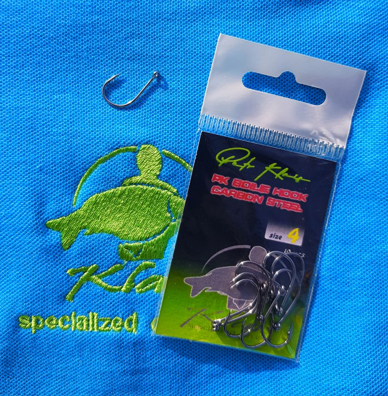 PK Boilie Hook Carbon Steel